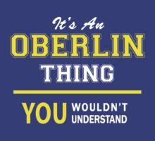It's An OBERLIN thing, you wouldn't understand !! by satro