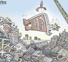 Hamilton's sign scrapyard by MacKaycartoons