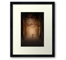 The Uncertainty Principle Framed Print