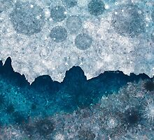 Midnight Glacier - Blue Ice  by Andrew Bret Wallis