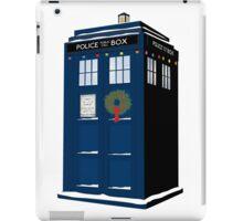Christmas Tardis - Dr Who iPad Case/Skin