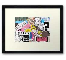 Switch Picture House Framed Print