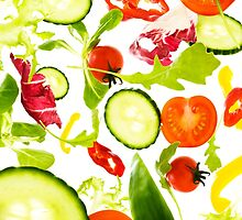Healthy Salad  by Andrew Bret Wallis