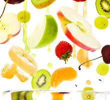 Healthy Fruit by Andrew Bret Wallis