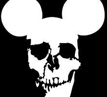 Mickey Skull by monsterdesign