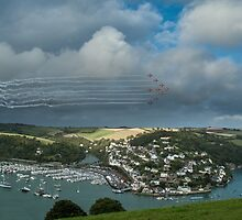 Red Arrows Dartmouth Regatta 2014 by Simon Finch