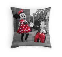 Mickey & Minnie Throw Pillow