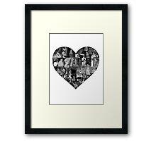 I Heart Disney Princesses Framed Print