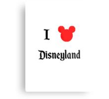 I Love Disneyland Metal Print
