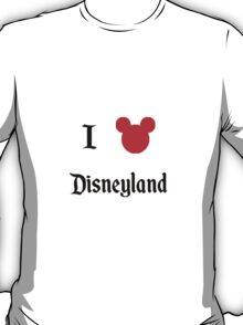 I Love Disneyland T-Shirt