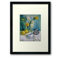 Happy morning Framed Print