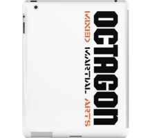 Octagon MMA Vertical iPad Case/Skin