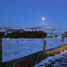Wales Road in Moonlight by AnnDixon