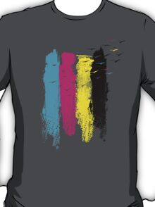 Scape In CMYK T-Shirt