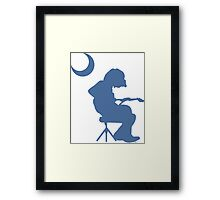 Palmetto Moon Houser Framed Print