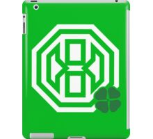 Octagon St. Patrick's Day Logo iPad Case/Skin