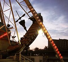 The Pirate Ship at Astroland  by thesunsetkid
