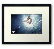 Kevin Durant 'Elite' Design Framed Print