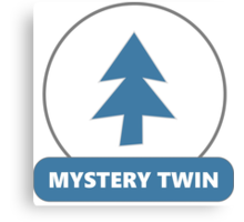 Mystery Twin #1 (Dipper Pines) Canvas Print