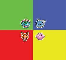 Pokemon Forever blue'n'red by MrSpait