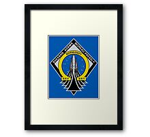 The Last Mission Framed Print