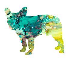 French Bulldog 5 by Watercolorsart
