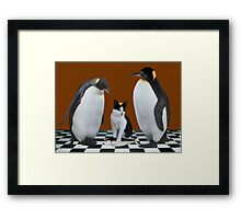 """""""THIS IS NOT JUNIOR - WHO IS THIS IMPOSTER?"""" Always show the you in you that makes you the you that you are.  Framed Print"""