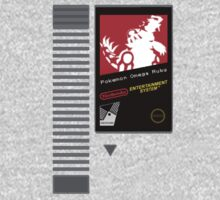 Nes Cartridge: Pokémon Omega Ruby by PowerArtist