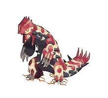 Only Primal Groudon (Pokemon Omega Ruby) Photographic Print