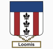 Loomis Coat of Arms (English) by coatsofarms
