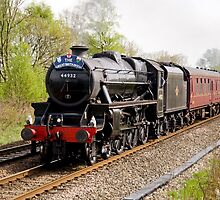 "The ""Great Britain VII"" steam rail tour hauled by a Black 5 by John Morris"