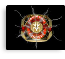 It's Morphin Time - TIGERZORD! Canvas Print