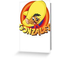 custom Speedy Gonzales new funny t-shirt Greeting Card