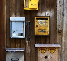 Happy Mailbox by Andrew Bret Wallis