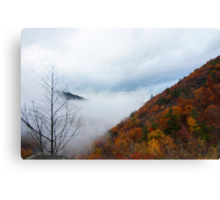 Hidden Mountain Canvas Print