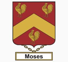 Moses Coat of Arms (English) Kids Clothes