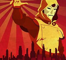 The Legend of Korra Amon Propaganda  by dylanwest2010