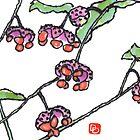 Bursting Heart (Euonymus americanus) by dosankodebbie