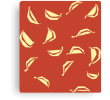Unorthodox Bananas Canvas Print