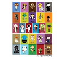 The Star Wars Alphabet Photographic Print