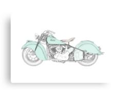 Indian Chief Motorcycle 1948  Metal Print