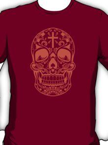Sugar Skull Orange T-Shirt