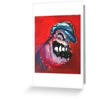 Bluto - Popeye the Sailor's Nemesis Greeting Card