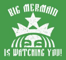 Big Mermaid Is Watching You! Kids Clothes