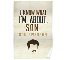 I Know What I'm About, Son Poster