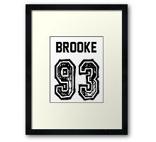 Brooke'93 Framed Print