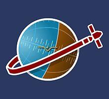 SPACESHIP! by JMcDowallDesign