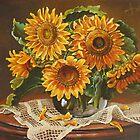 Sunflowers by dusanvukovic