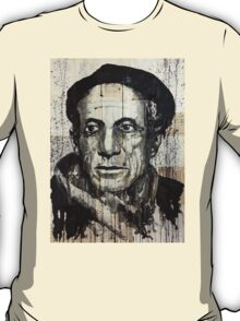 old book drawing famous people picasso bablo T-Shirt