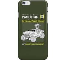 Warthog Service and Repair Manual iPhone Case/Skin
